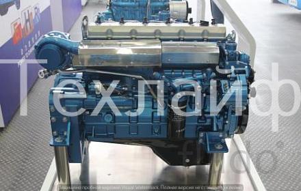 Двигатель Shanghai SC8DK280Q3 Евро-3 на автокран XCMG QY25K5S.