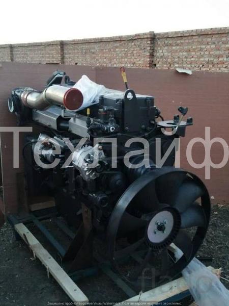Двигатель Shanghai SC9DF290Q4 Евро-4 на автокраны XCMG QY25K5S.