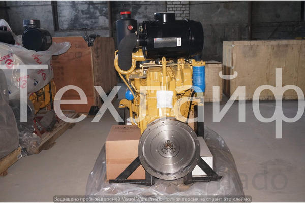 Двигатель Weichai WD10G178E25 Евро-2 на бульдозера Shantui SD16.