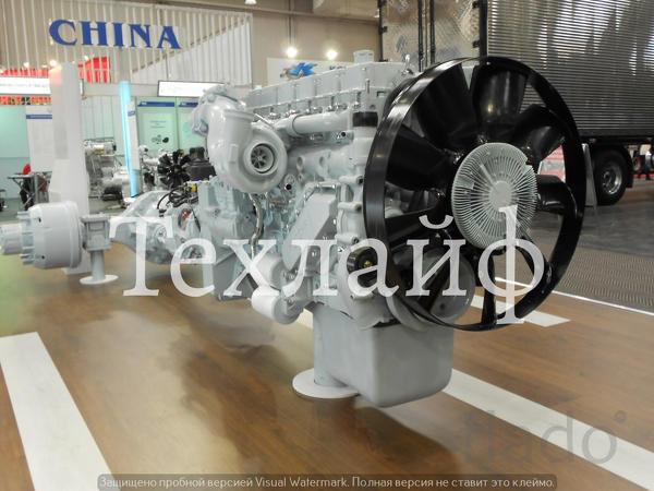Двигатель Weichai WP12.375N Евро-3 на виброкатки, самосвалы, тягачи Fo
