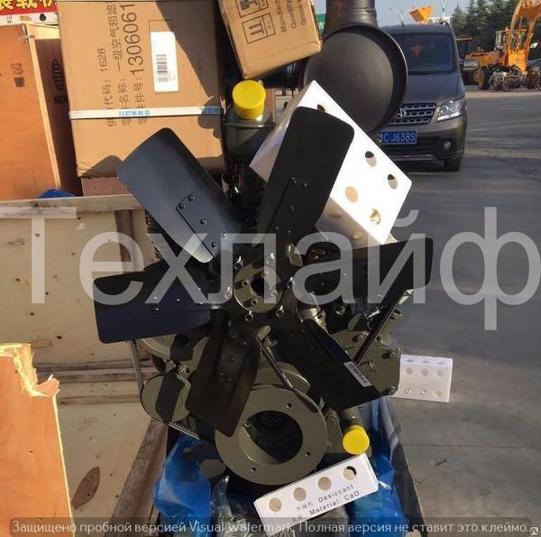 Двигатель Weichai WP4G95E221/ Deutz TD226B-4 Евро-2 на экскаватор-погр