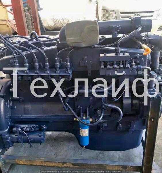 Двигатель газовый Weichai 12.420 Евро-4 на грузовую колесную технику F