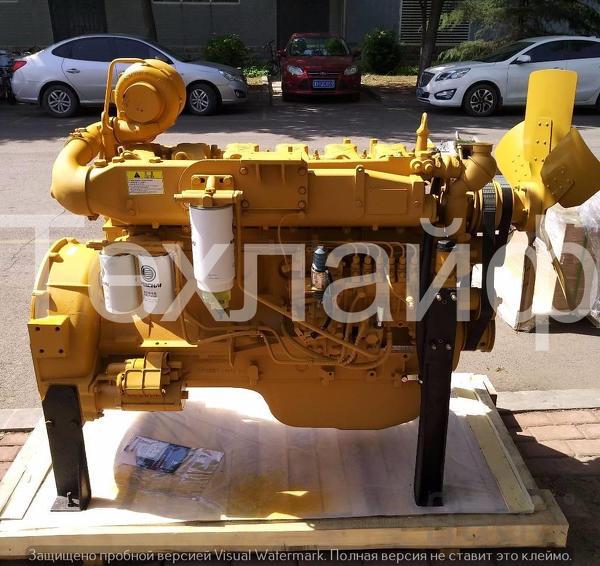 Двигатель Weichai WD10G220E21 Евро-2 на фронтальные погрузчики XCMG LW