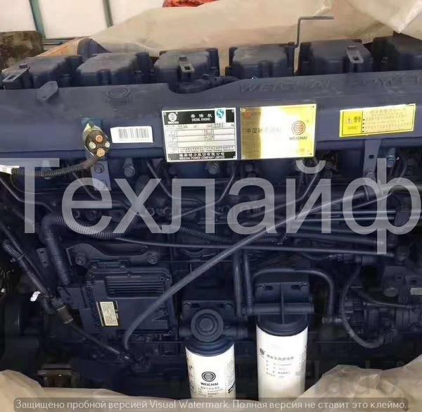 Двигатель Weichai WP12G265E304 Евро-3 на бульдозера.