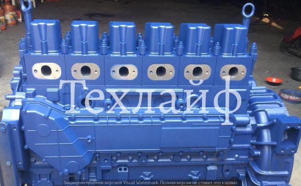 Двигатель Yuchai YC6B125-T20 без навесного оборудования.