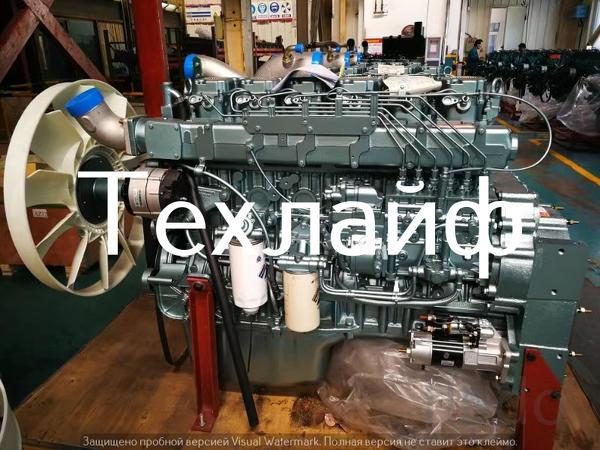 Двигатель Sinotruk D12.42-20 Евро-2 на самосвалы, тягачи Howo A7.