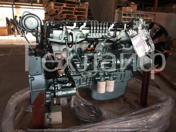 Двигатель Sinotruk D10.38-40 Евро-4 на HOWO A7.