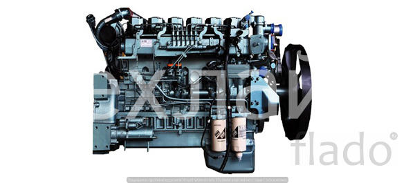Двигатель Sinotruk WD615.334 Евро-3 на автокраны XCMG QY40V.