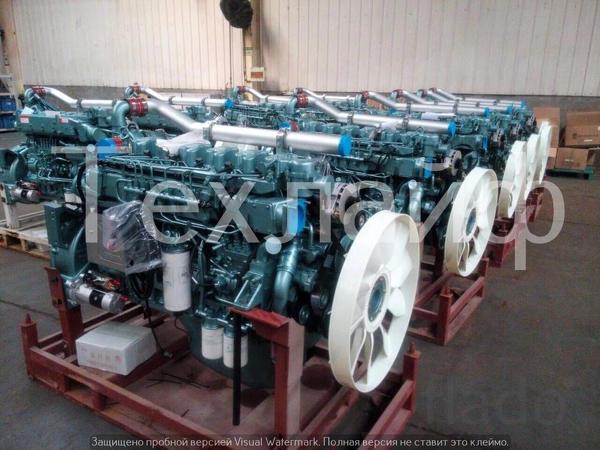 Двигатель Sinotruk D10.38A-40 Евро-4 на автокрана XCMG QY70KS, XCMG QY
