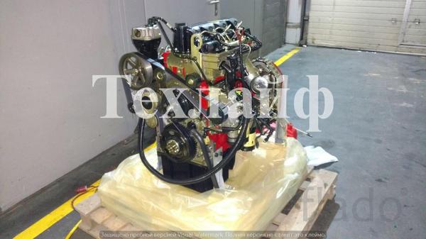 Двигатель Cummins ISF3.8 (ISF3.8E4R154-111) Евро-4 на ГАЗ, МАЗ, Foton.