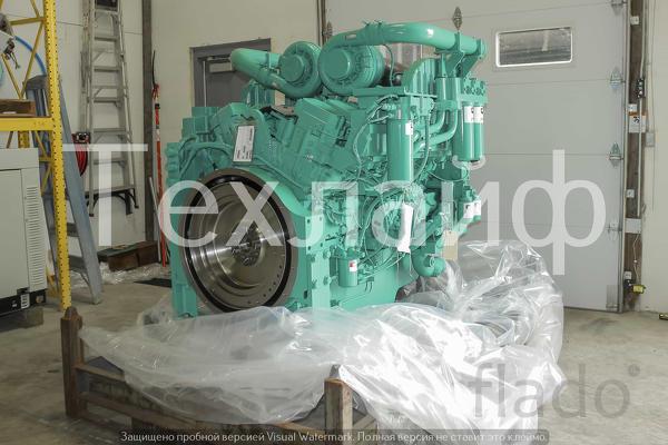 Двигатель Cummins QST30-G5 Евро-2 для дизель-генераторной установки.