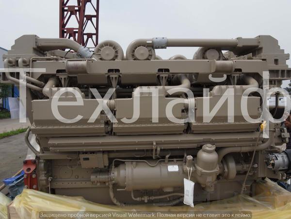 Двигатель Cummins QSK 78-C Евро-2 на карьерного самосвала БелАЗ, Liebh