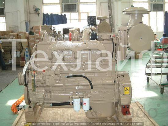 Двигатель Cummins NT855-L290 Евро-2 на тепловоза (восстановленный в за