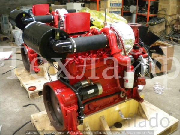 Двигатель Cummins 6BT5.9-P Евро-2 на пожарный водяной насос.