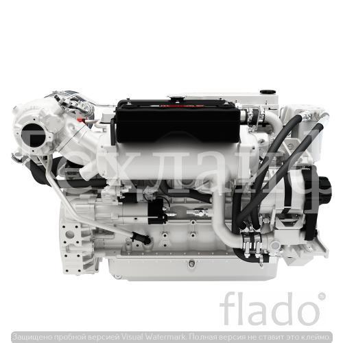 Двигатель Cummins QSB6.7-M Евро-3 на судовой дизель.