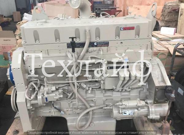Двигатель Cummins QSM11-335 Евро-2 на погрузчики, экскаваторы, самосва