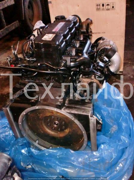 Двигатель Cummins 4ISBe-180 Евро-3 на автобусов ПАЗ, КАВЗ, Ютонг
