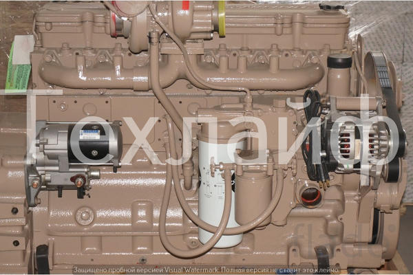 Двигатель Cummins QSL9 серии CM Евро-3 на тракторы, краны, экскаваторы