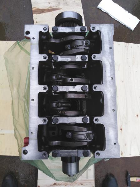 Двигатель Cummins iSF3.8 комплектация Short (блок цилиндров в сборе)