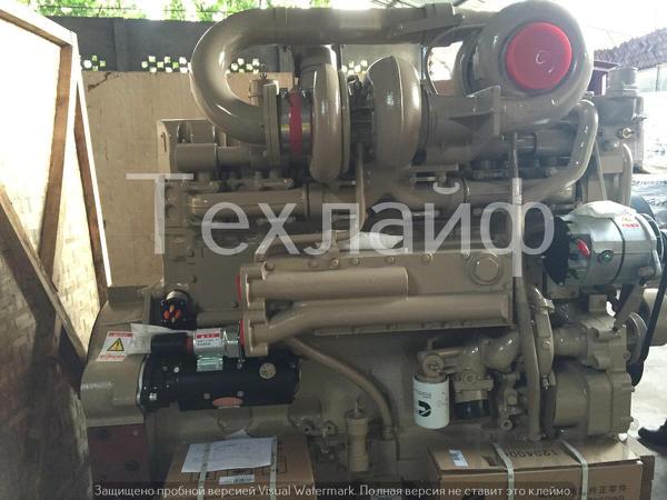 Двигатель Cummins KTTA19-C700 Евро-2 на БелАЗ 7555B, 7555D, 7555.