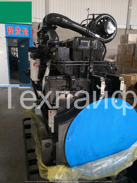 Двигатель в сборе Cummins QSK23-C760 Евро-2 на экскаваторs Hyundai R12