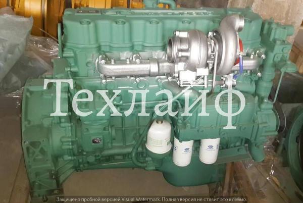Двигатель FAW CA6DL2-35E Евро-2 на самосвалы FAW.