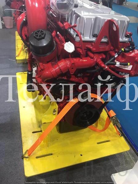 Двигатель CAMC CM6D10.350 50 Евро-5 на грузовики CAMC.