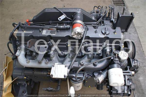 Двигатель Komatsu S6D114E на бульдозера, автогрейдера.