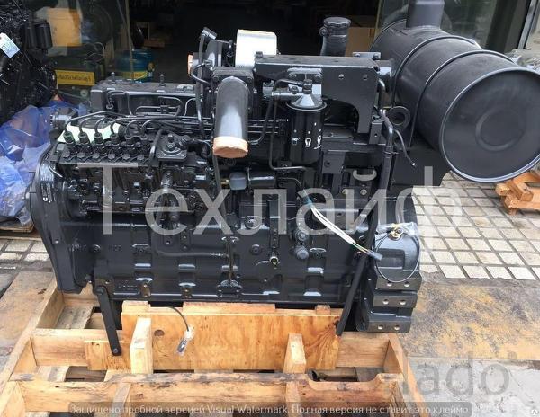 Двигатель Komatsu SAA6D114E-2 Евро-2 на фронтальные погрузчики Komatsu