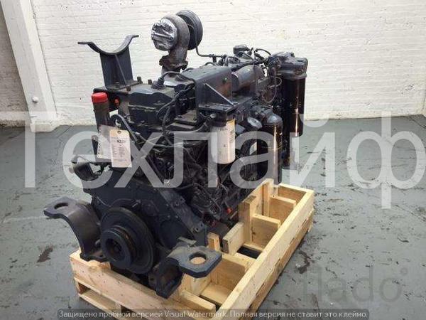 Двигатель Komatsu SA6D125E-3 Евро-3 на бульдозера Komatsu D85EX-15.