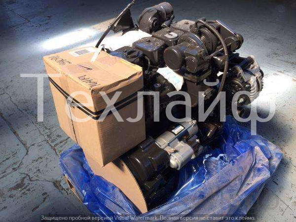 Двигатель Komatsu SAA4D102E-2 (Cummins 4BTAA3.9) Евро-2 на гусеничные