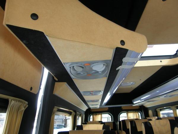 Переоборудование микроавтобуса Наша компания осуществляет переобору