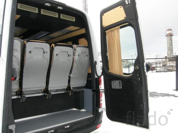 Переоборудование микроавтобуса  компания осуществляет переобо