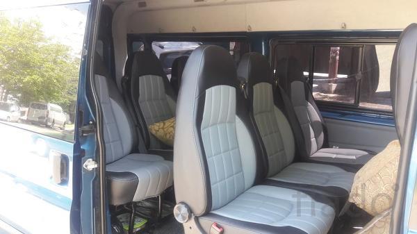 Установка сидений в автобус Наша компа