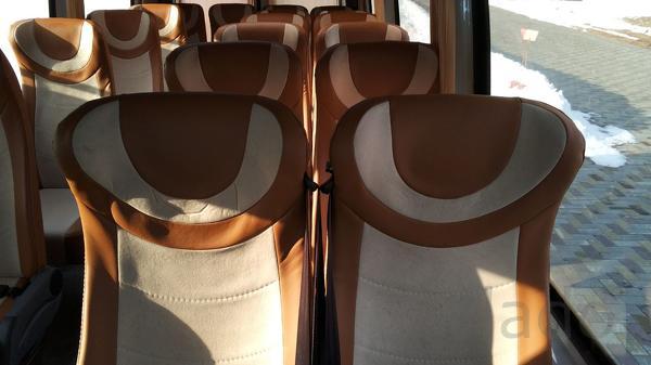 Установка сидений в автобус