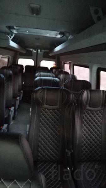 Установка сидений в микроавтобу