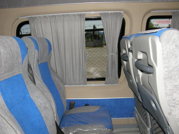 Доработка до туристического микроавтобуса Доработка до ту