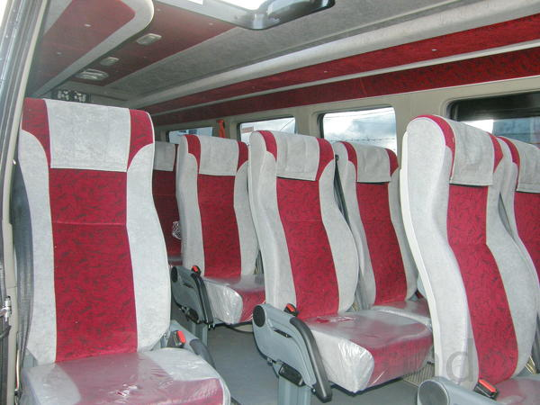 Доработка до туристического микроавтобуса Доработка до