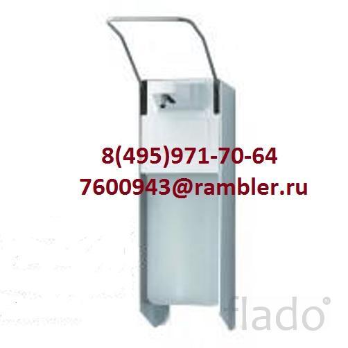 Дозатор локтевой M-1000 для жидкого мыла алюминивый с емк. на 1000 мл.
