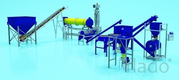 Миниоборудование для производства почвосмесей и удобрений