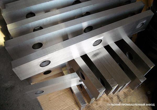 Продажа гильотинных ножей от завода производителя с сертификатом качес