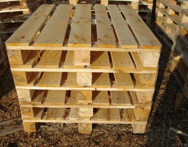 Организация реализует деревянные поддоны