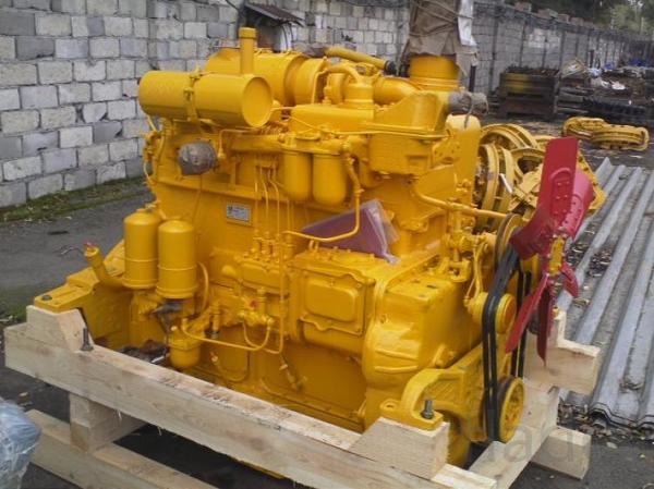 Двигатель Д-160/Д-180 на трактор/бульдозер ЧТЗ Уралтрак