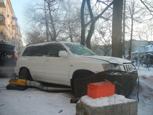 Отогрев авто 258544 Хабаровск