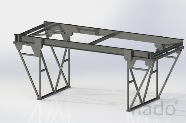Подмости каменщика шарнирно-панельные инвентарные