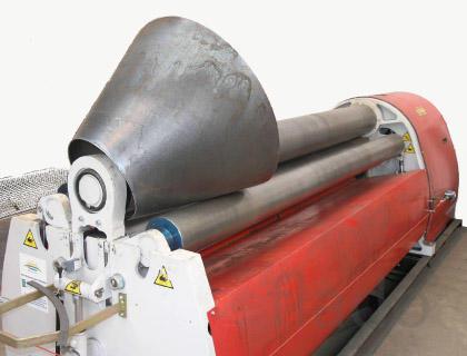 Вальцовка листового металла 10 мм и выше