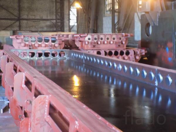 Металлоформа для изготовления пустотных плит ПК 63 -15