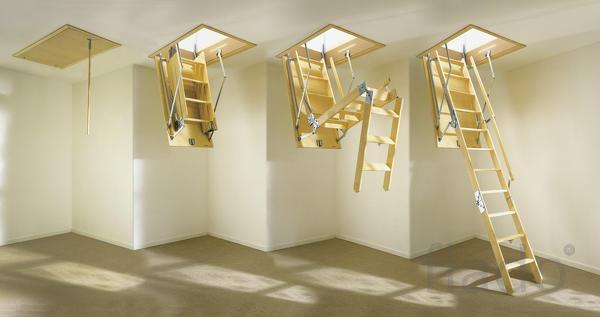 Мансардная лестница в Ессентуках