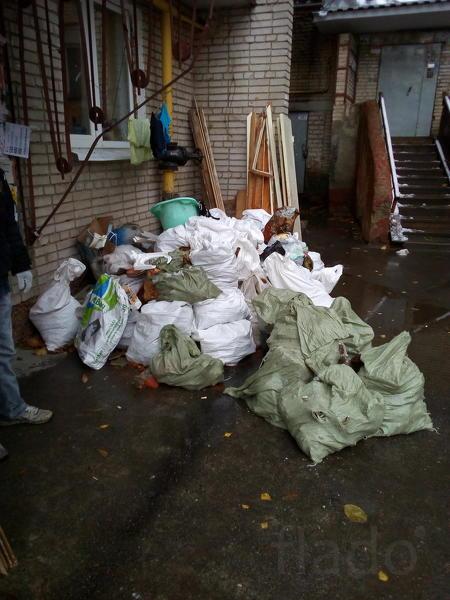 Уберем любые помещения и территории от мусора