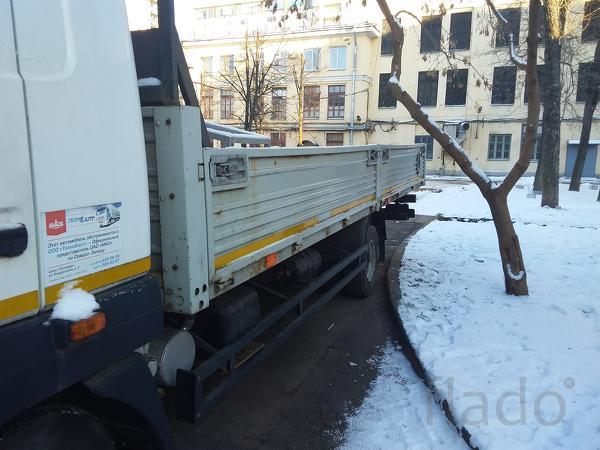 Перевозки открытый грузовик Спб